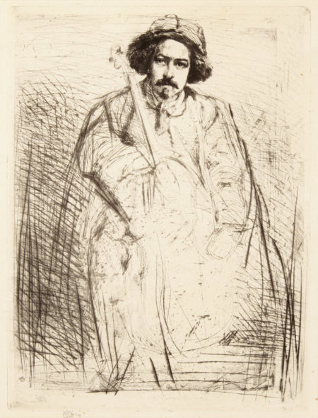 James Abbott McNeill Whistler-J. Becquet, from A Series of Sixteen Etchings of Scenes on the Thames (K. 52 iii/iv; University of Glasgow 62)-1859