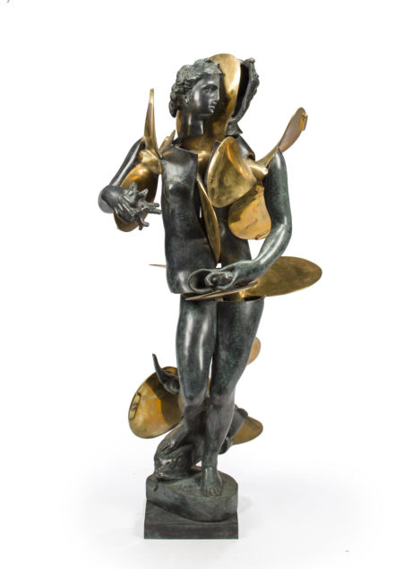 Arman-Untitled (Amphitrite with propellors)-1990