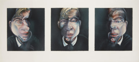 Francis Bacon-Three Studies for a Self-Portrait (S. 15)-1981