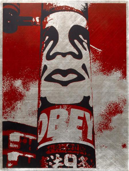 Shepard Fairey-Obey Pole-2001