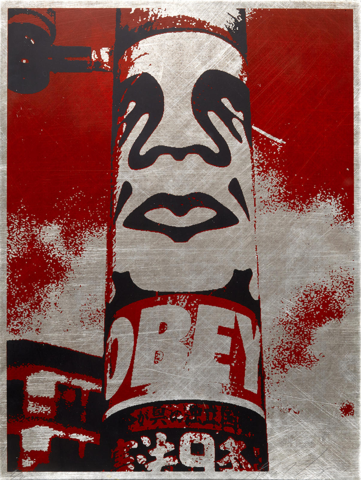Shepard Fairey-Obey Pole-2001