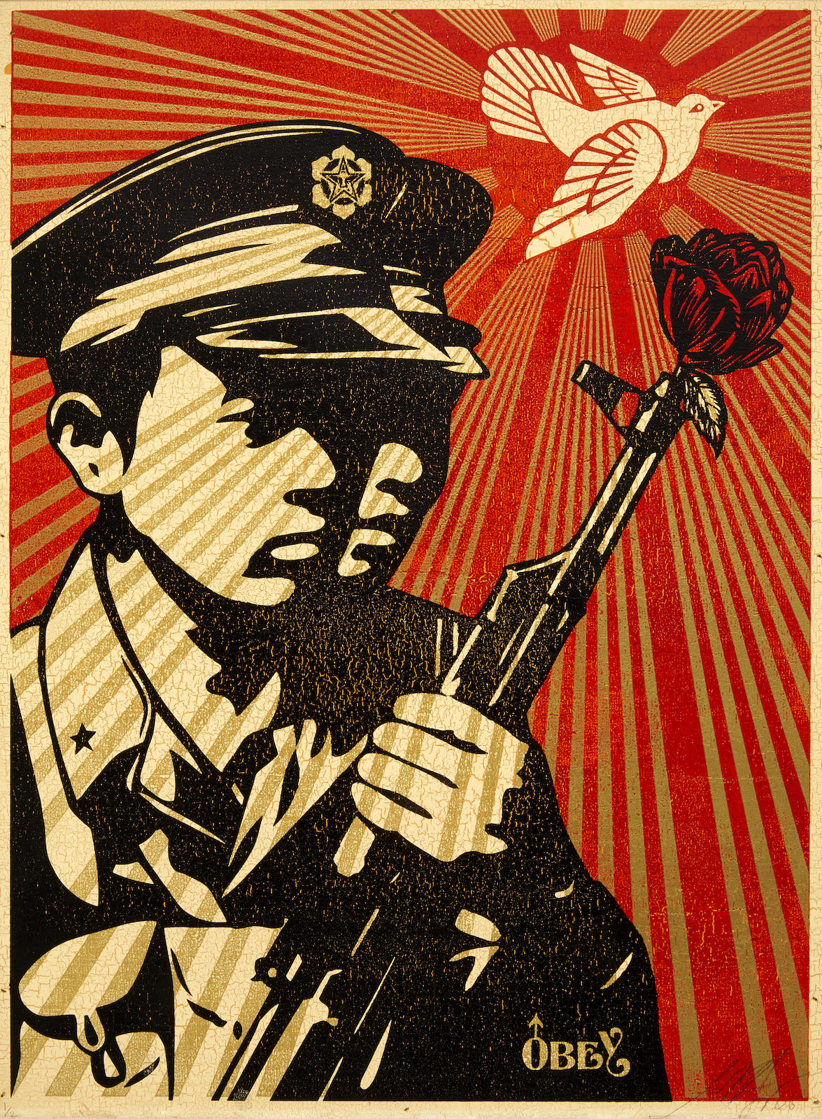 Shepard Fairey-Chinese Soldiers-2005