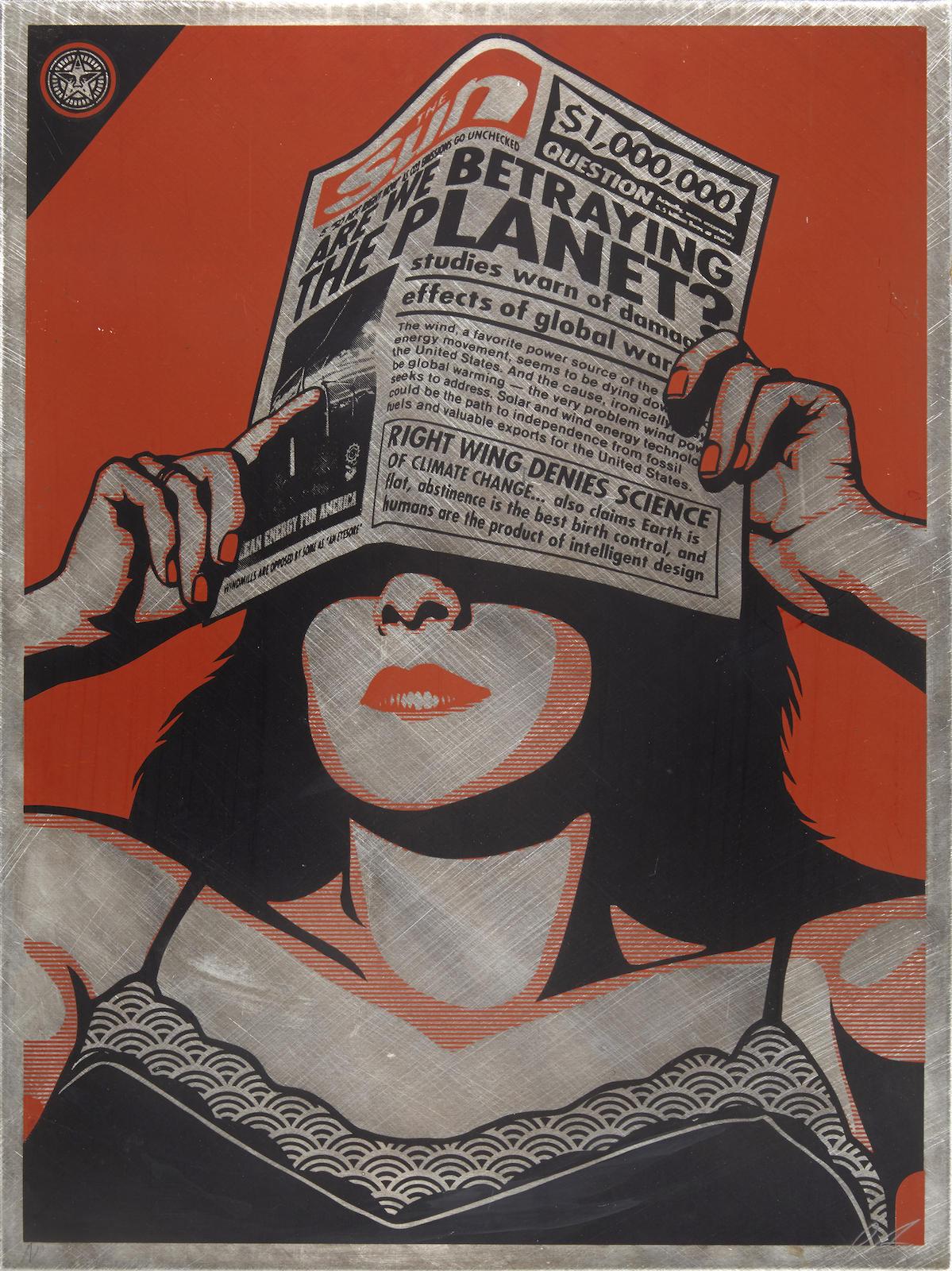 Shepard Fairey-Global Warning-2010