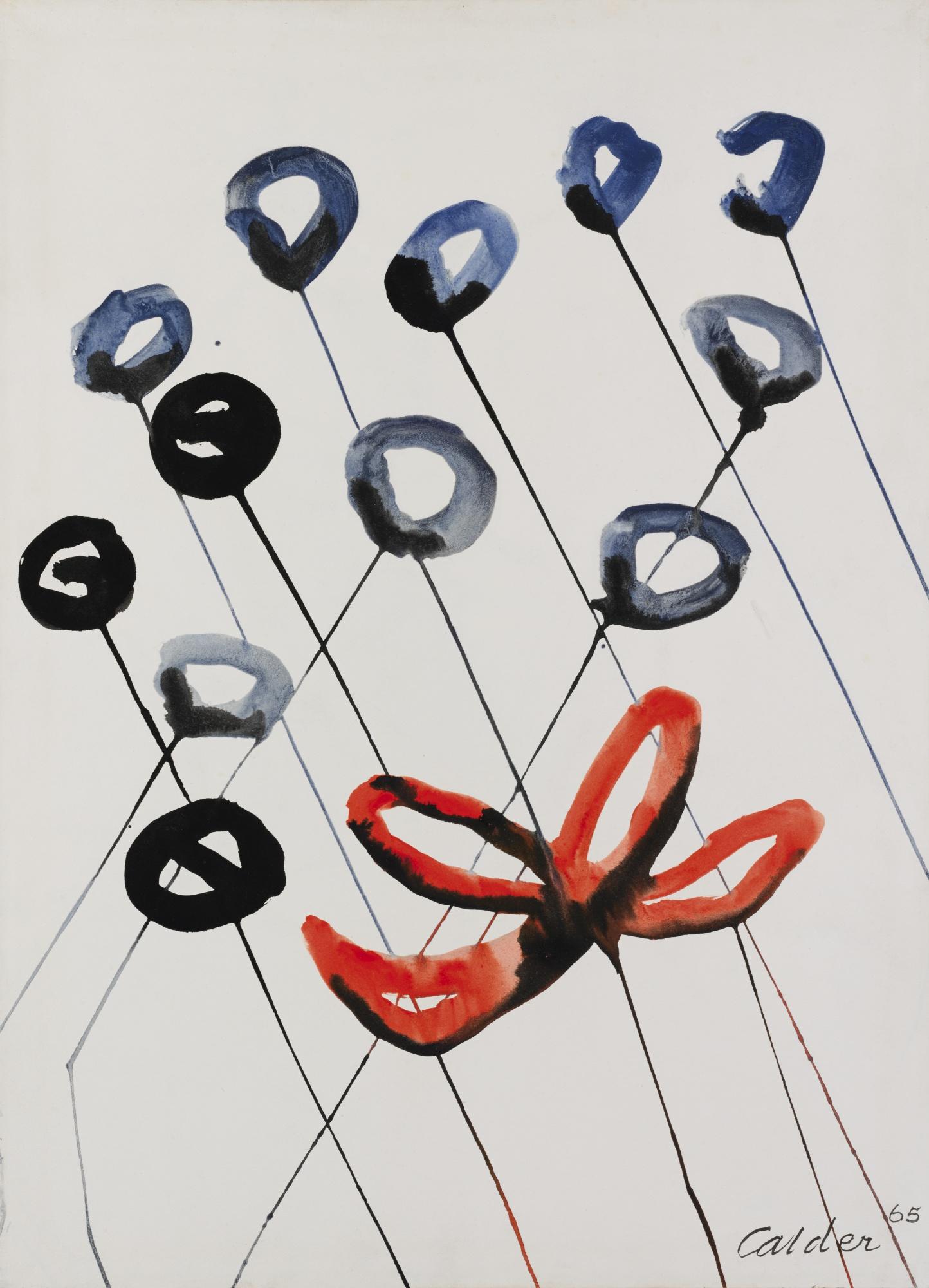 Alexander Calder-Treize Fleurs-1965