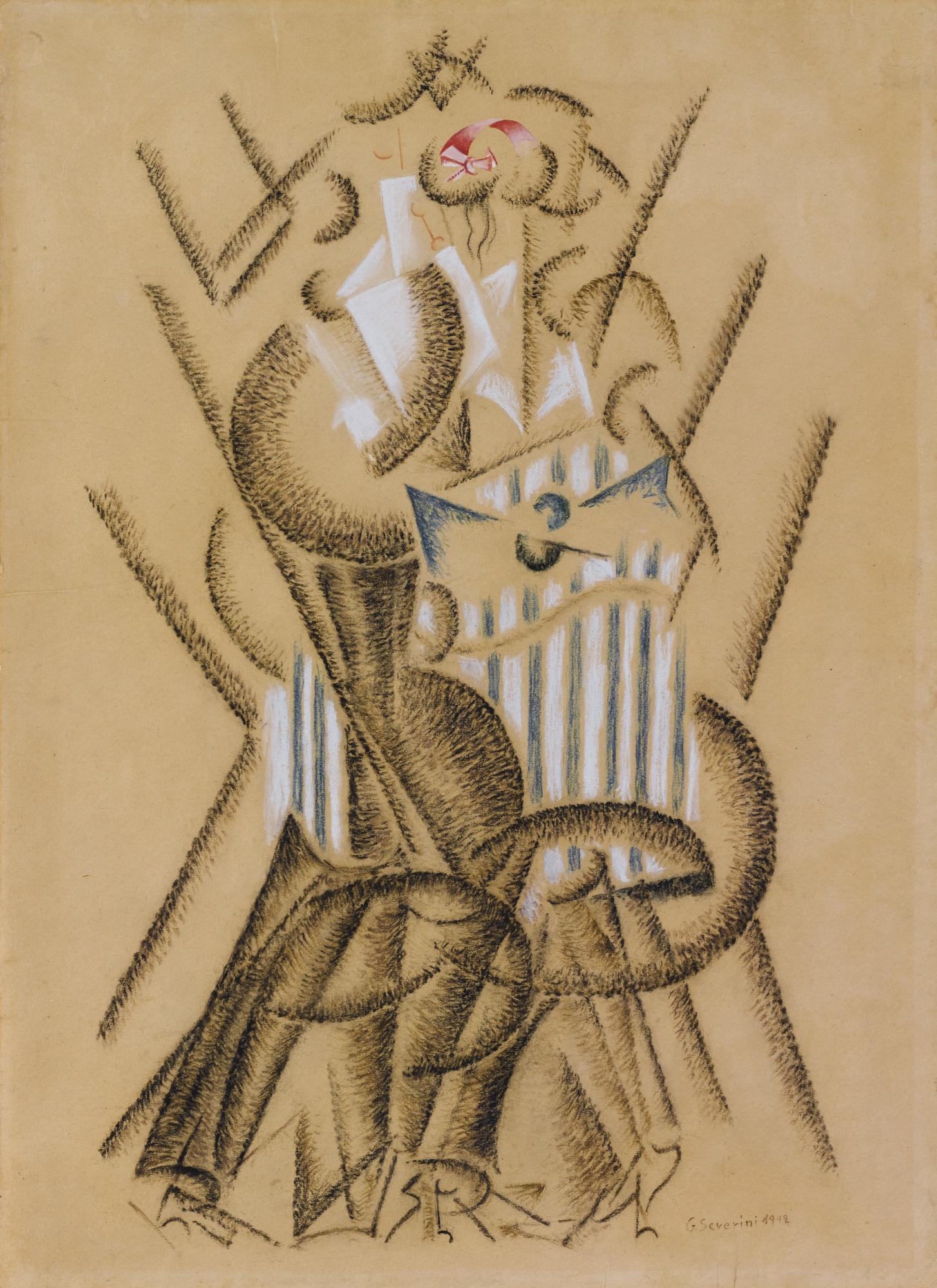 Gino Severini-Danse De L'Ours-1912