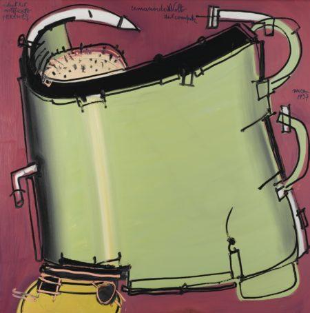 Mattia Moreni-Umanoide Avvolto Dal Computer-1997