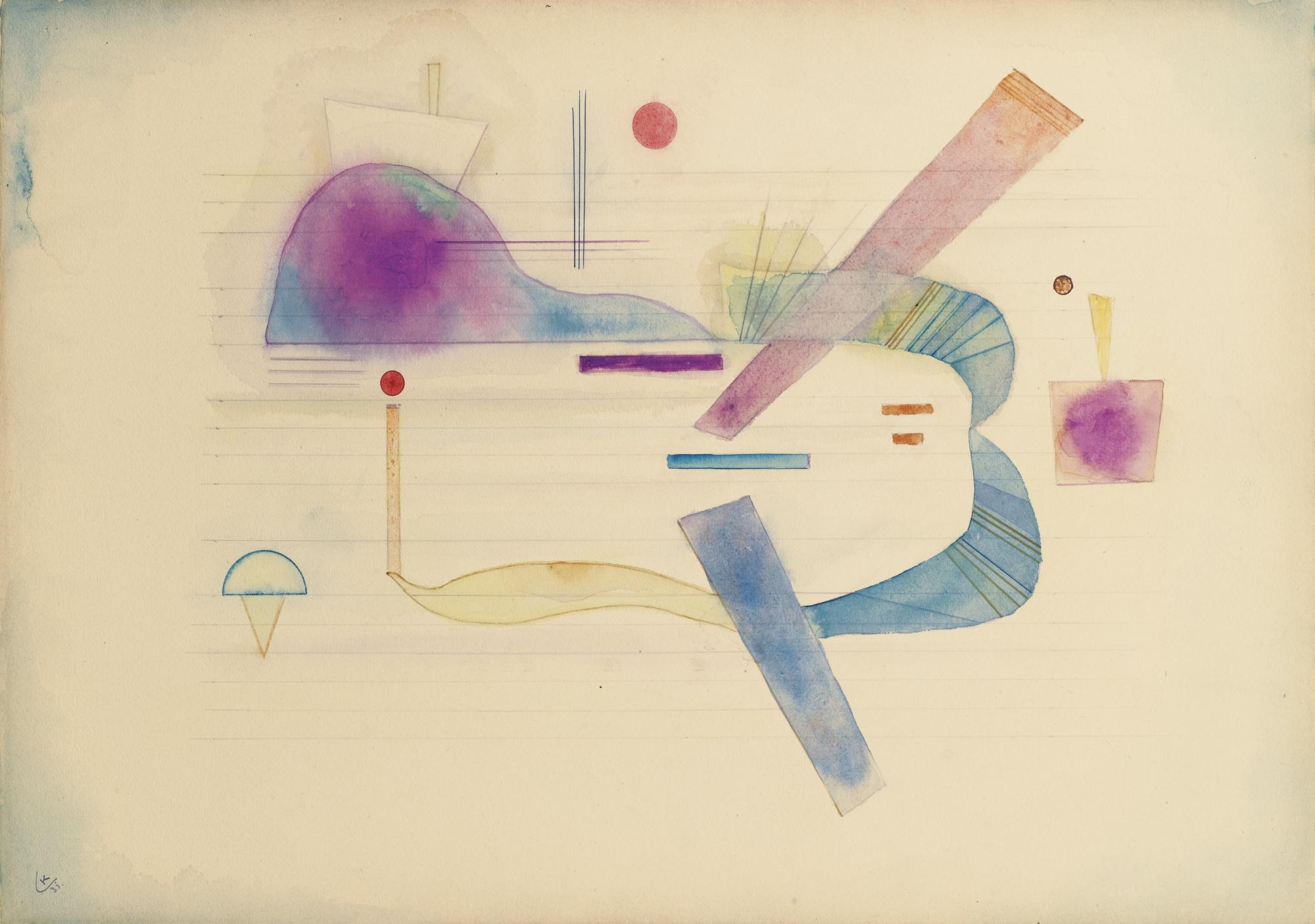 Wassily Kandinsky-Rapprochement-1931