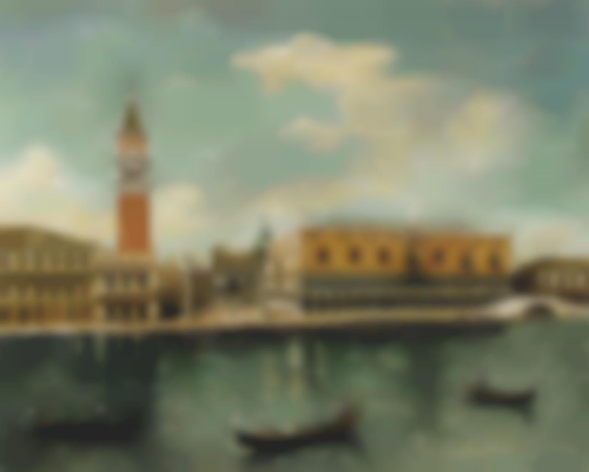 Giorgio de Chirico-Venezia, Palazzo Ducale-