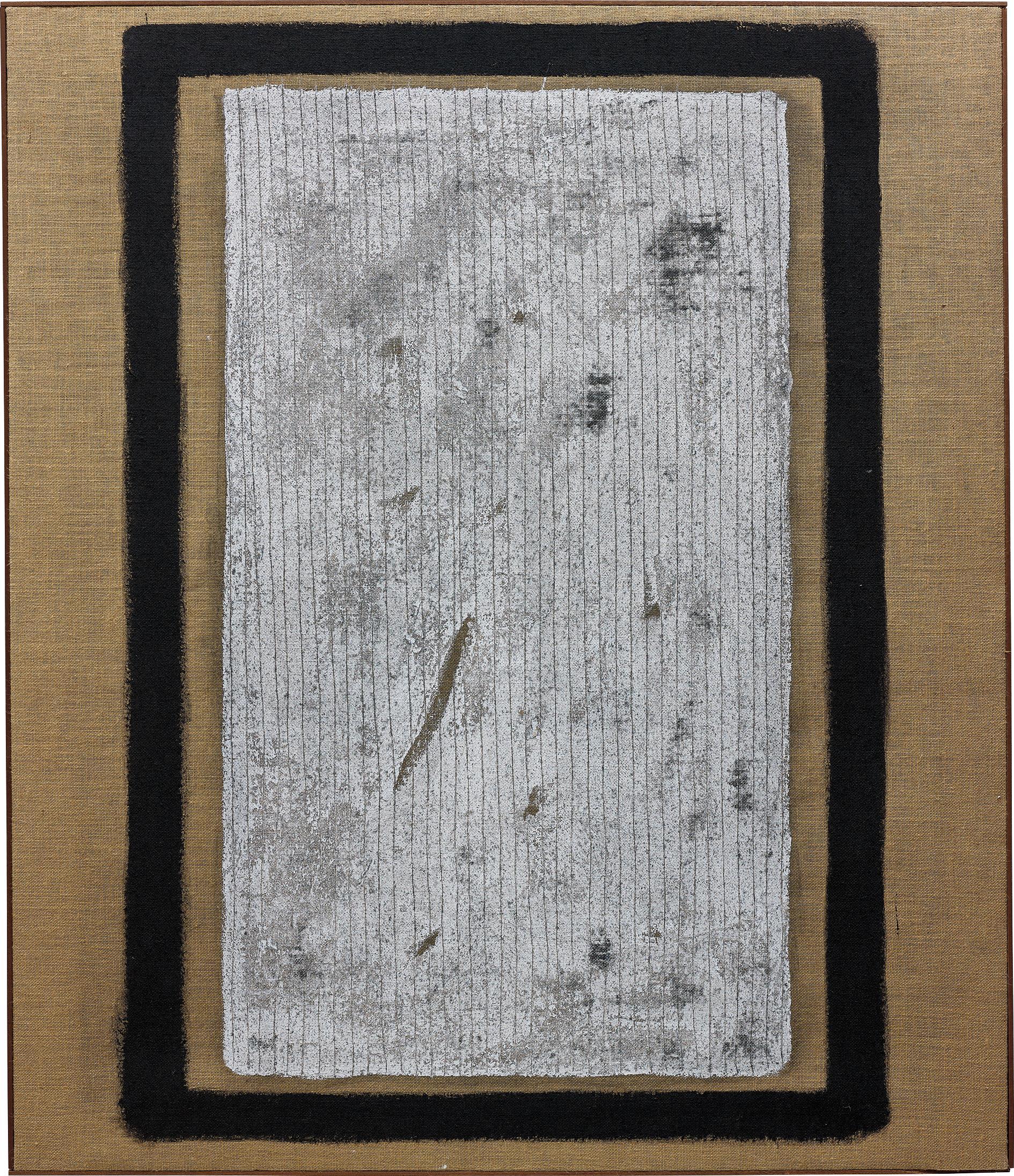 Salvatore Emblema-Materico Pitture-1965