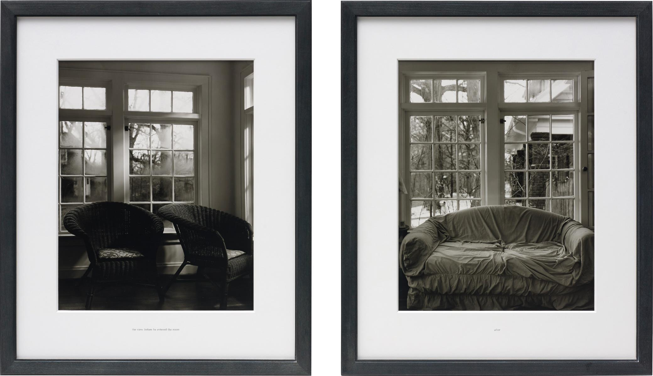 Lorna Simpson-Interior/Exterior, Full/Empty No. 17-1997