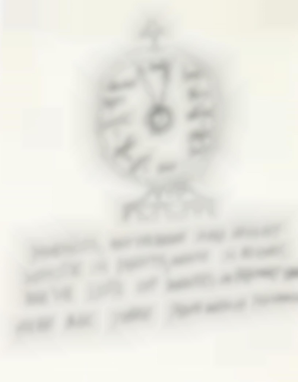 Andy Warhol-Clock-1953