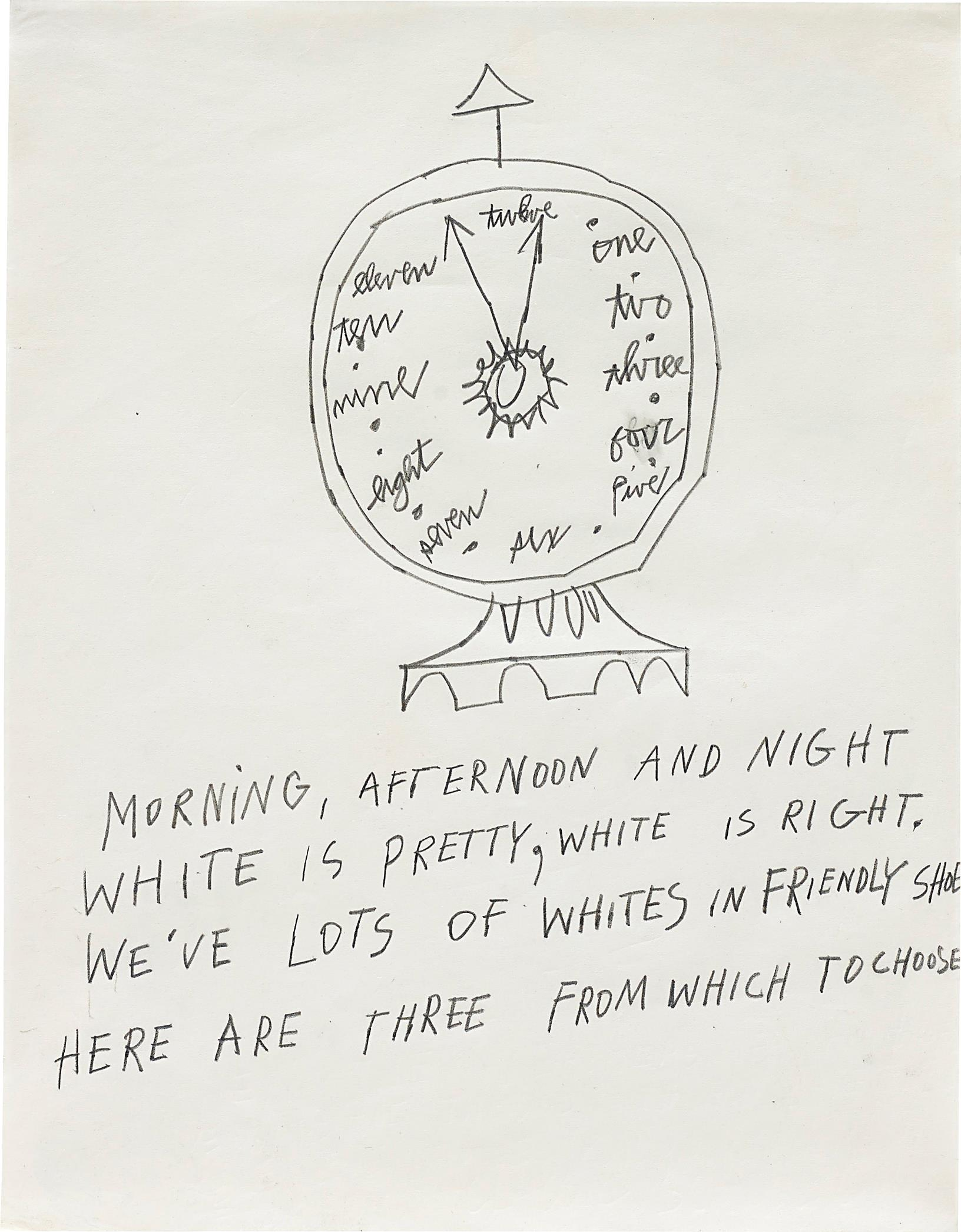Andy Warhol-Clock-1953