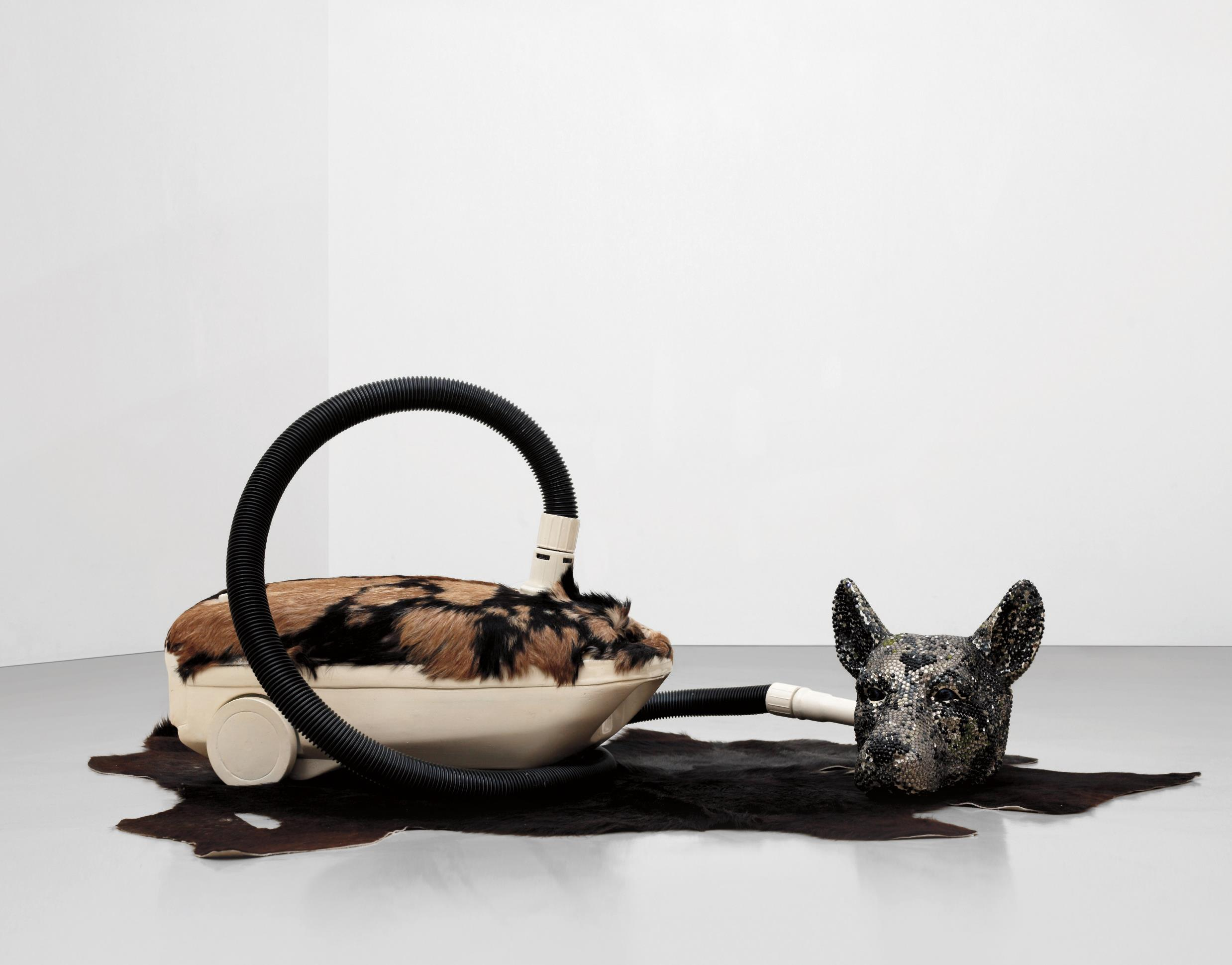Bharti Kher-Hungry Dogs Eat Dirty Pudding-2004