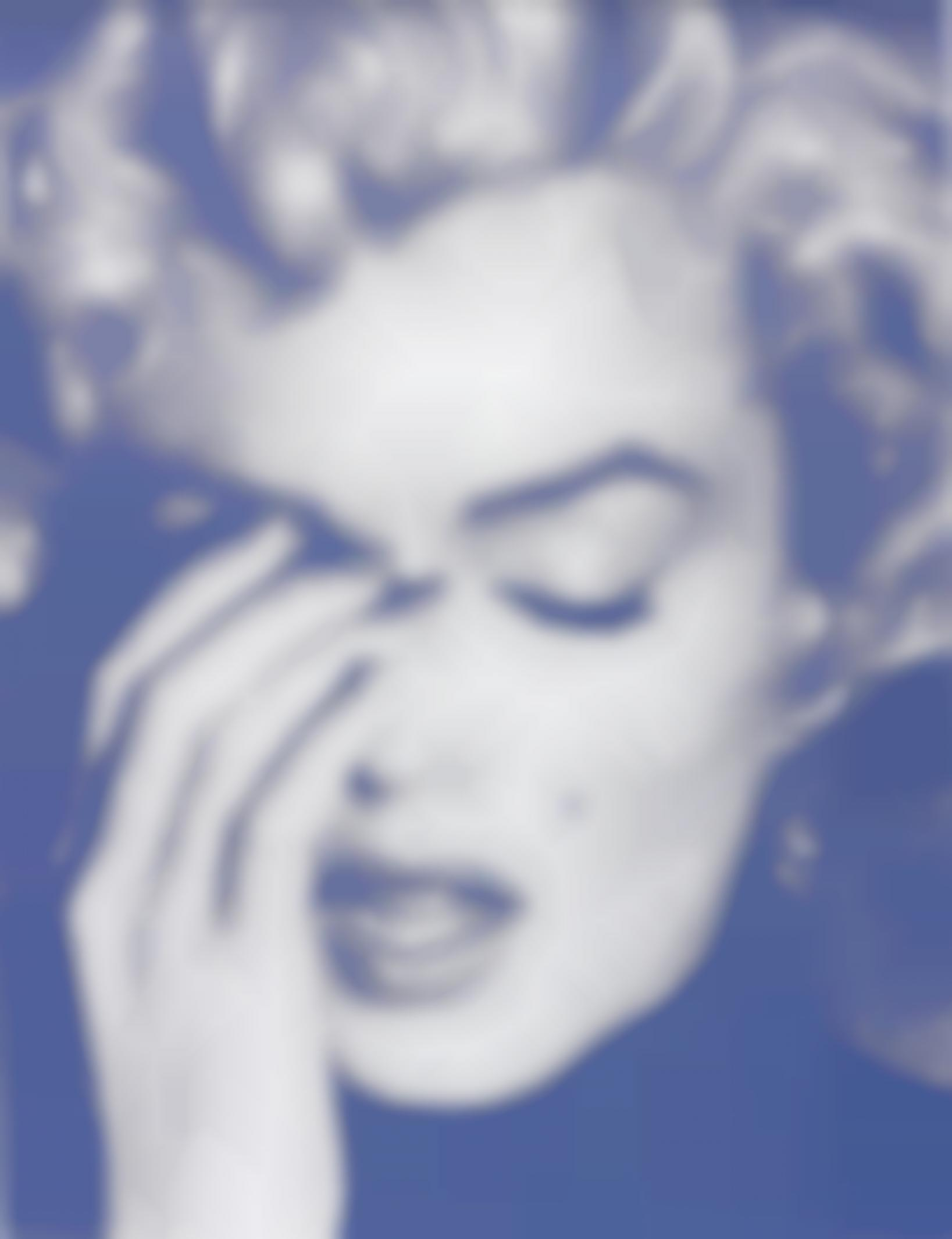 Russell Young-Marilyn Crying-2010