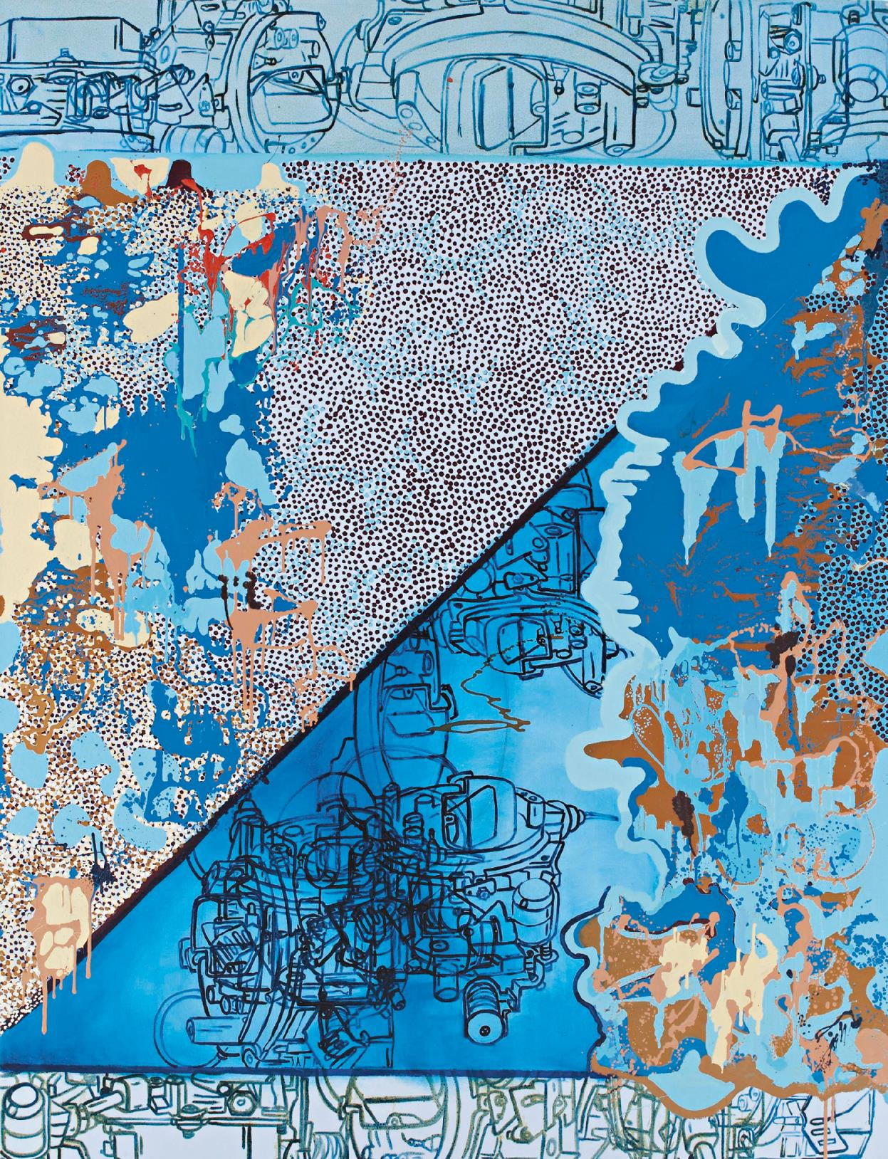 Lydia Dona-Fields and Zones of Germinality and Flowers-1998