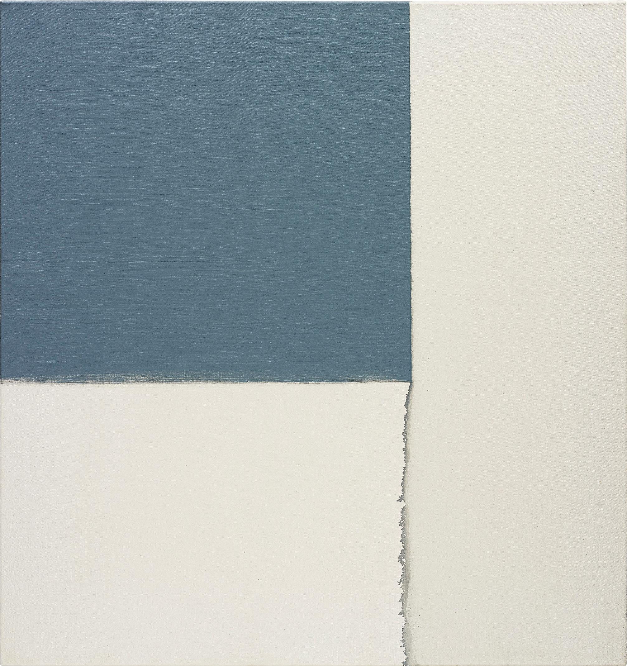 Callum Innes-Exposed Painting, Grey-1996