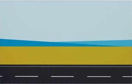 Julian Opie-Roadscape 61-2001