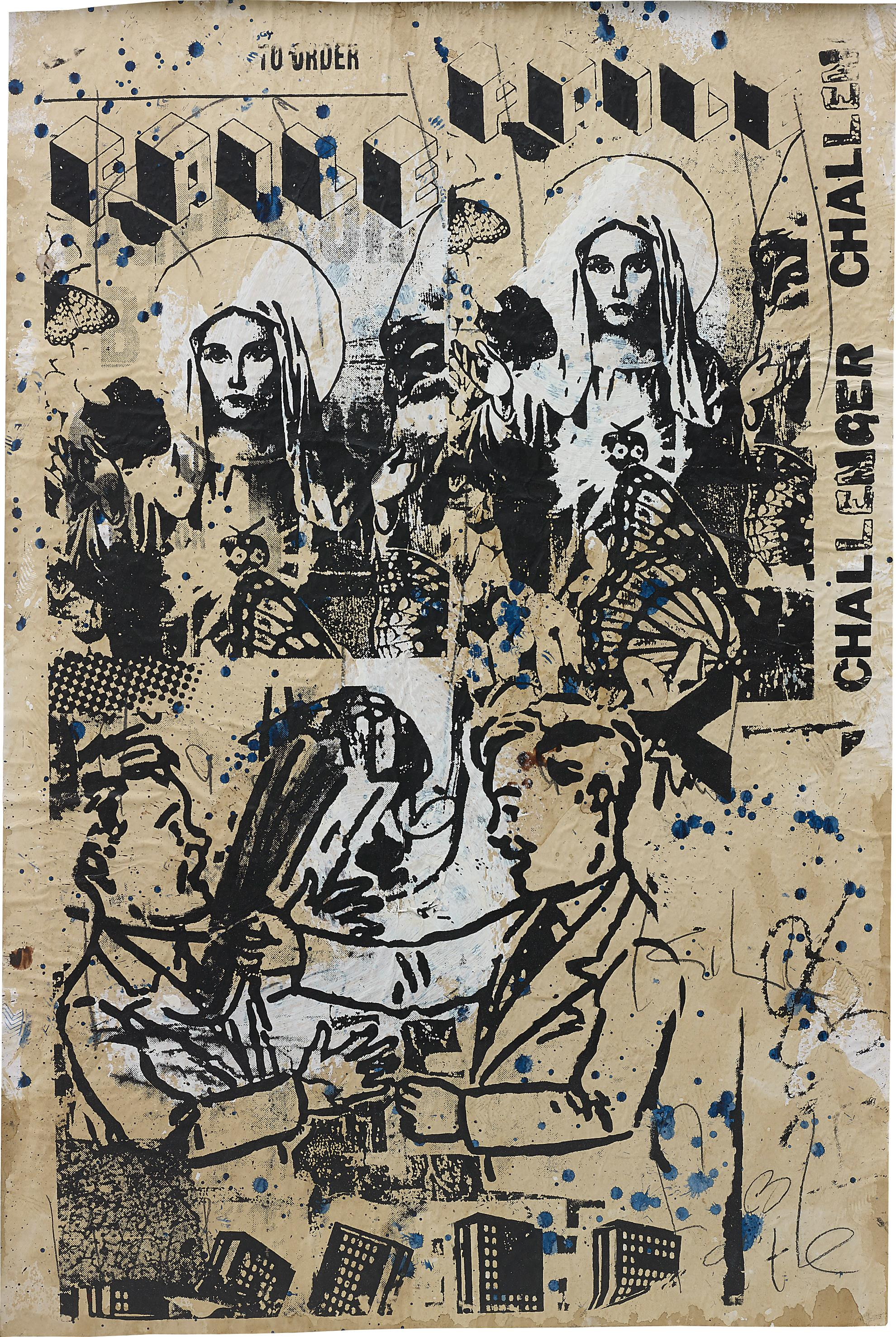 Faile-Untitled (Challenger)-2006