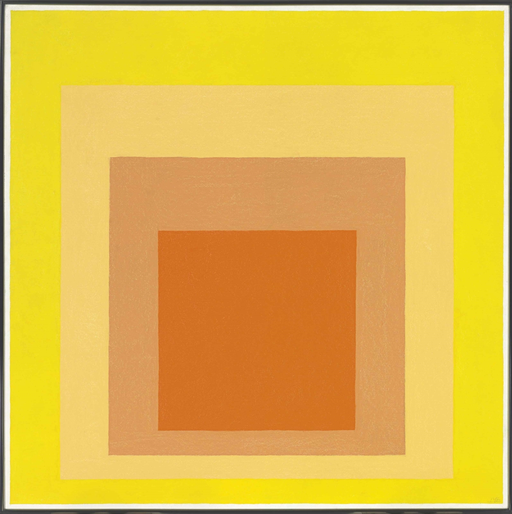 Josef Albers-Homage To The Square: Midsummer-1964