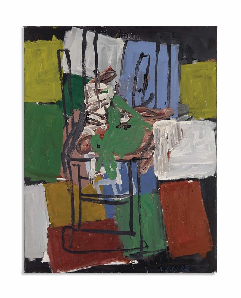 Georg Baselitz-Das Motiv: Der Hase-1988