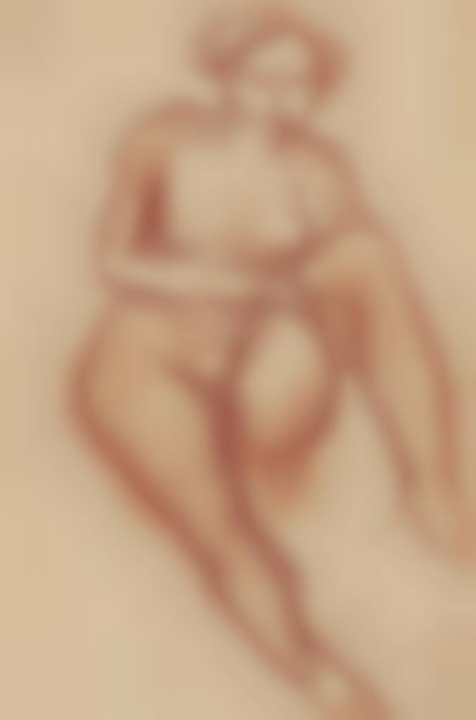 Zao Wou-Ki-Untitled (Woman)-1949