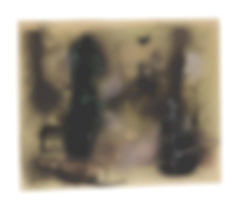 Zao Wou-Ki-Untitled (Forest)-1950