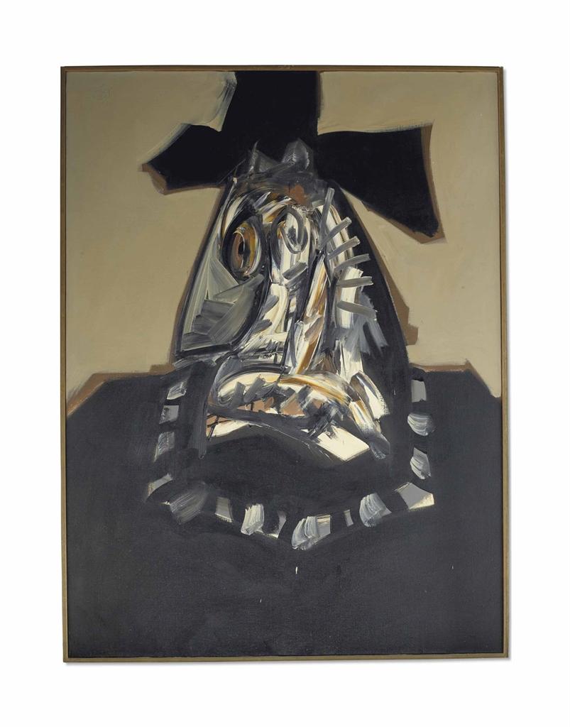 Antonio Saura-Portrait Imaginaire De Philippe II-1967