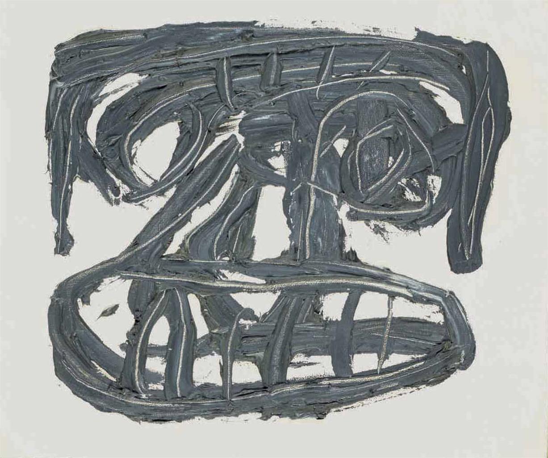 Antonio Saura-Tete-1961