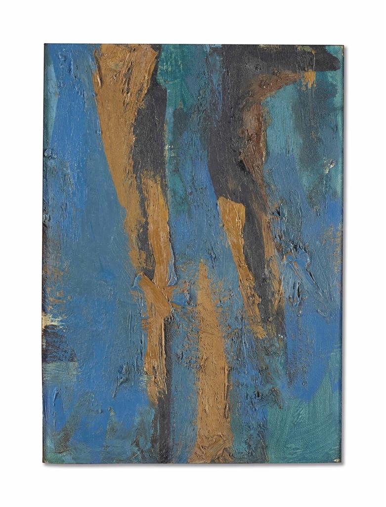 Fritz Bultman-Idea A Blue-1960