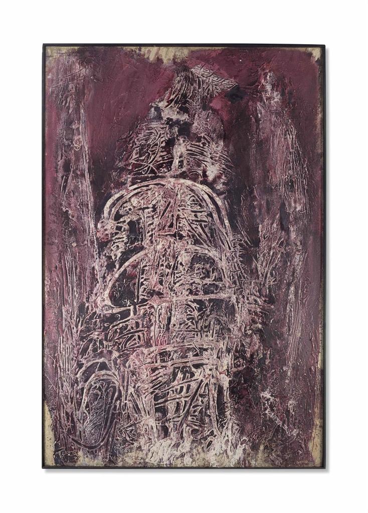 Horia Damian-Figure Construction-1962
