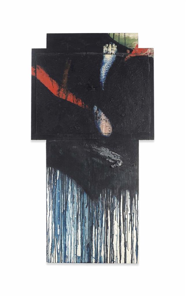 Arnulf Rainer-Kreuz-1986