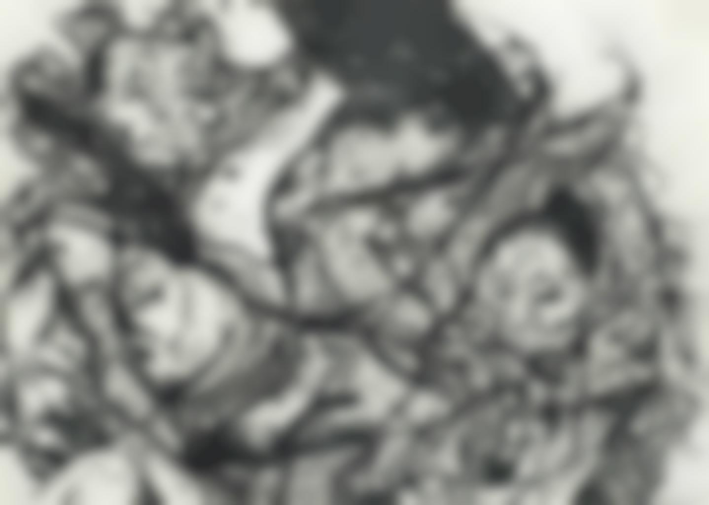 Arnulf Rainer-Gesischter Mit Goya No. 31-1983