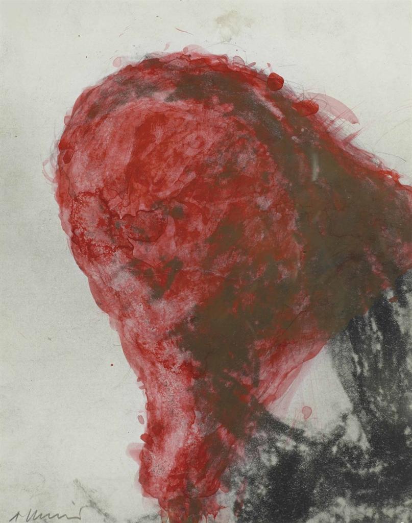 Arnulf Rainer-Gesischter Mit Goya No.79-1983