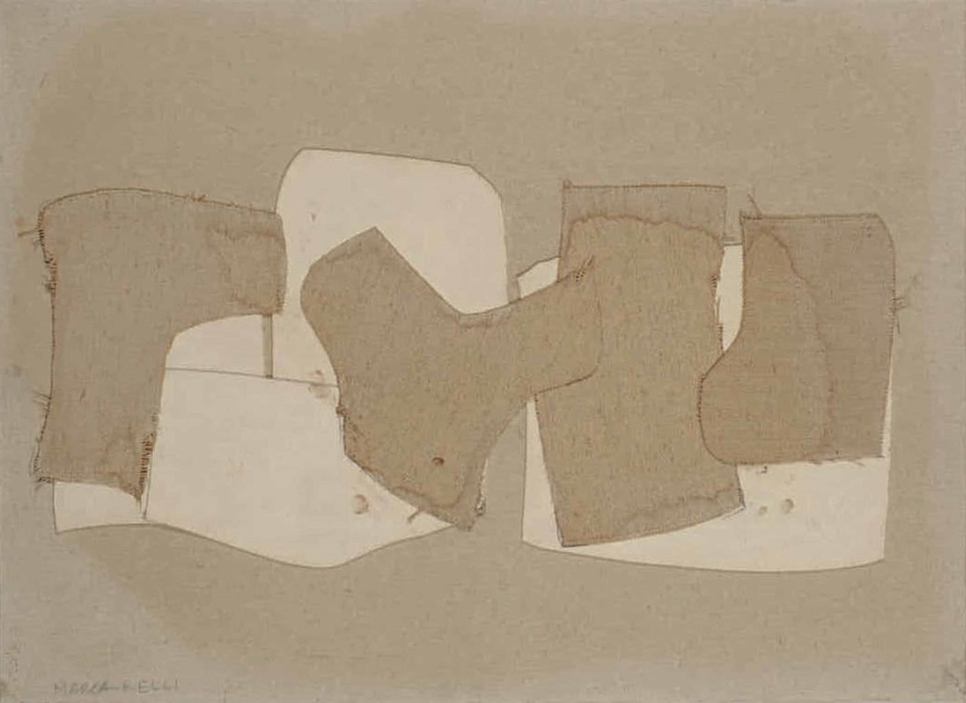 Conrad Marca-Relli-Untitled F-S-27-67-1967