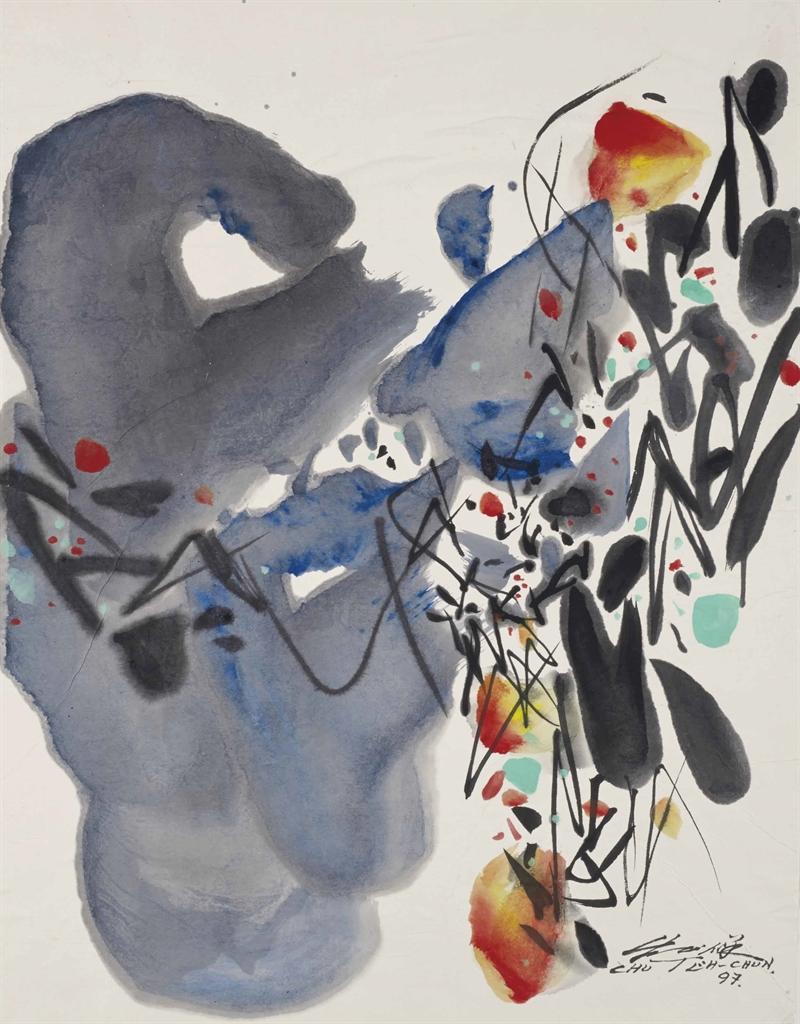 Chu Teh-Chun-Untitled-1997