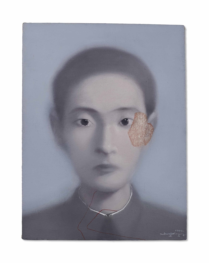 Zhang Xiaogang-Untitled-1999