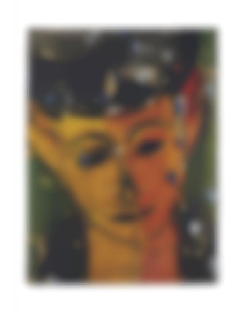 Manolo Valdes-Retrato De Amelie IV-2000