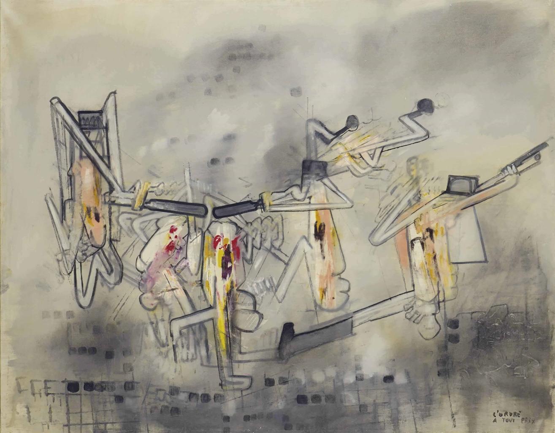 Roberto Matta-Charonne, Lordre A Tout Prix-1962