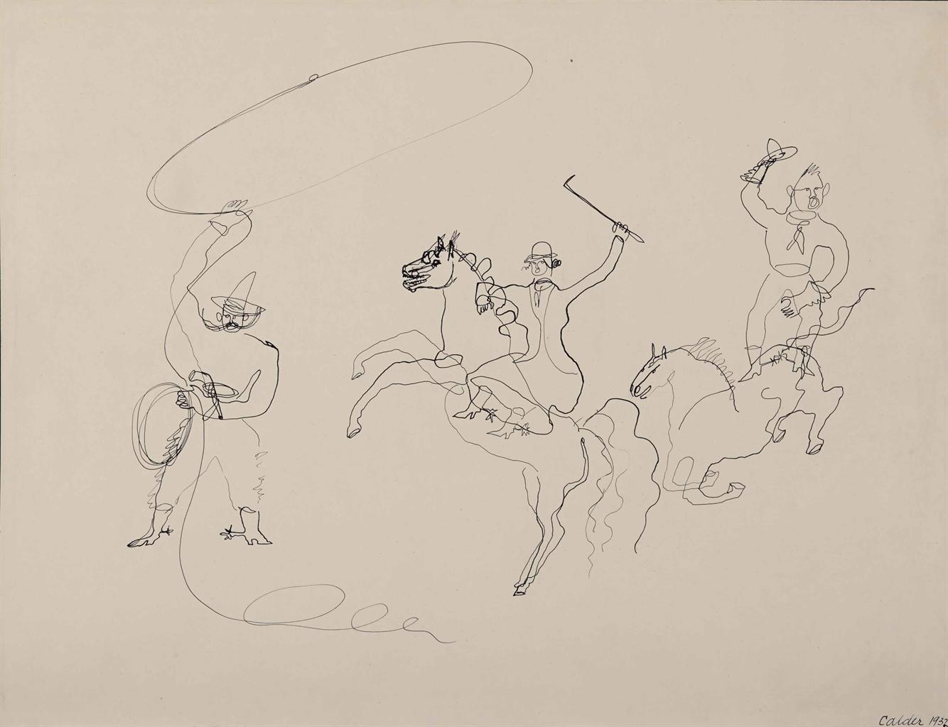 Alexander Calder-Untitled-1932