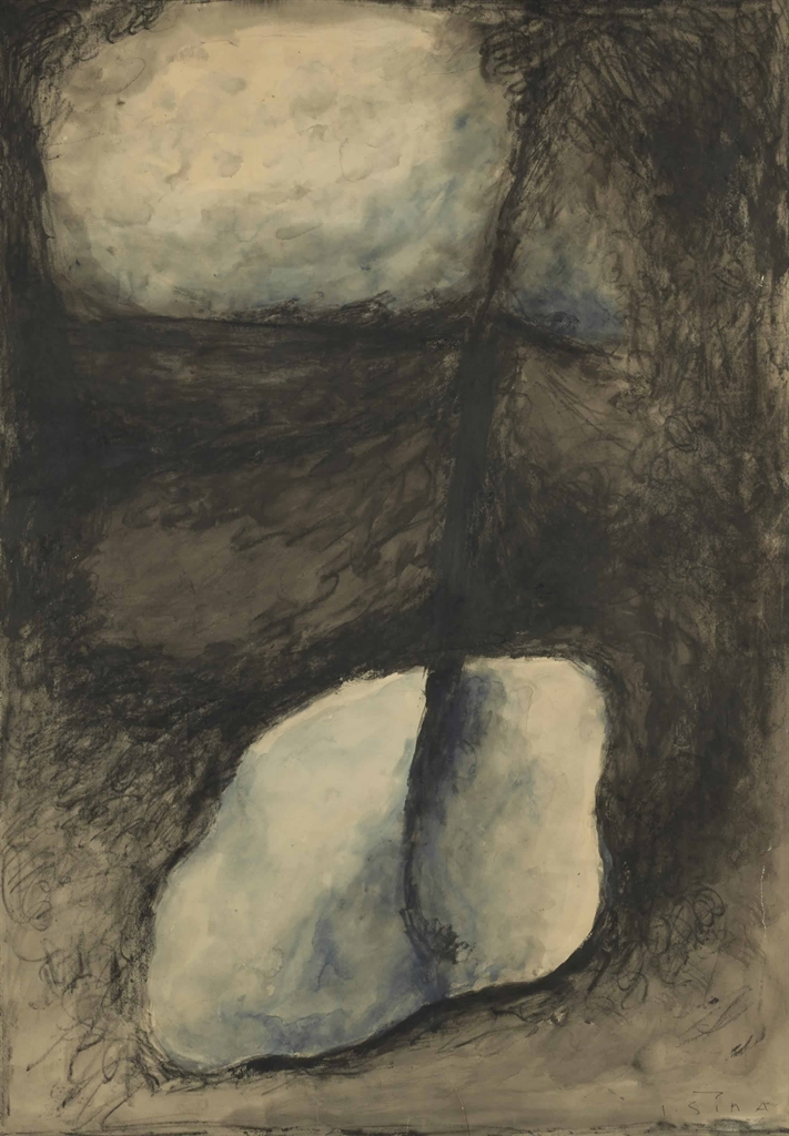 Josef Sima-Untitled-1955