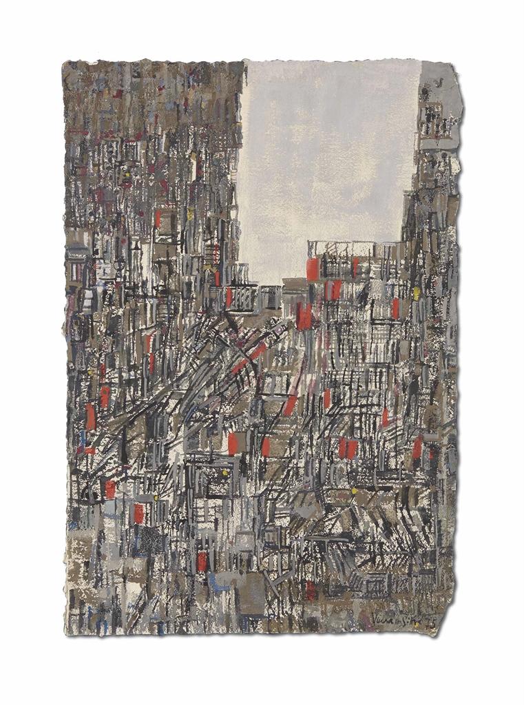 Maria Helena Vieira da Silva-Untitled-1975