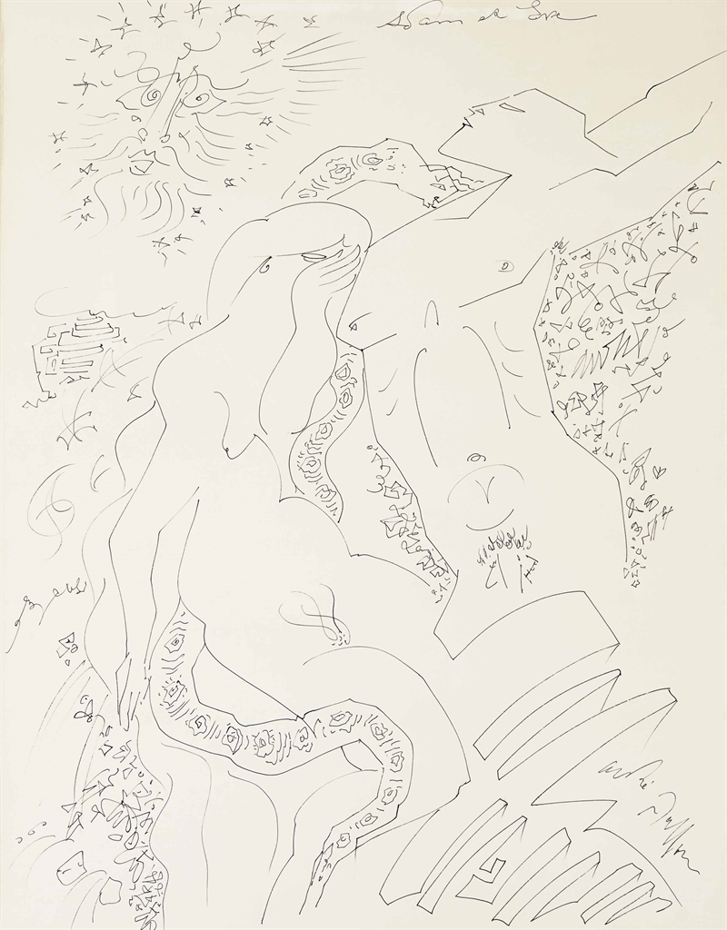 Andre Masson-Adam Et Eve-1973