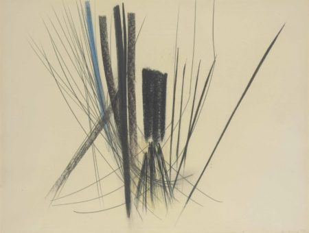 Hans Hartung-Untitled-1957
