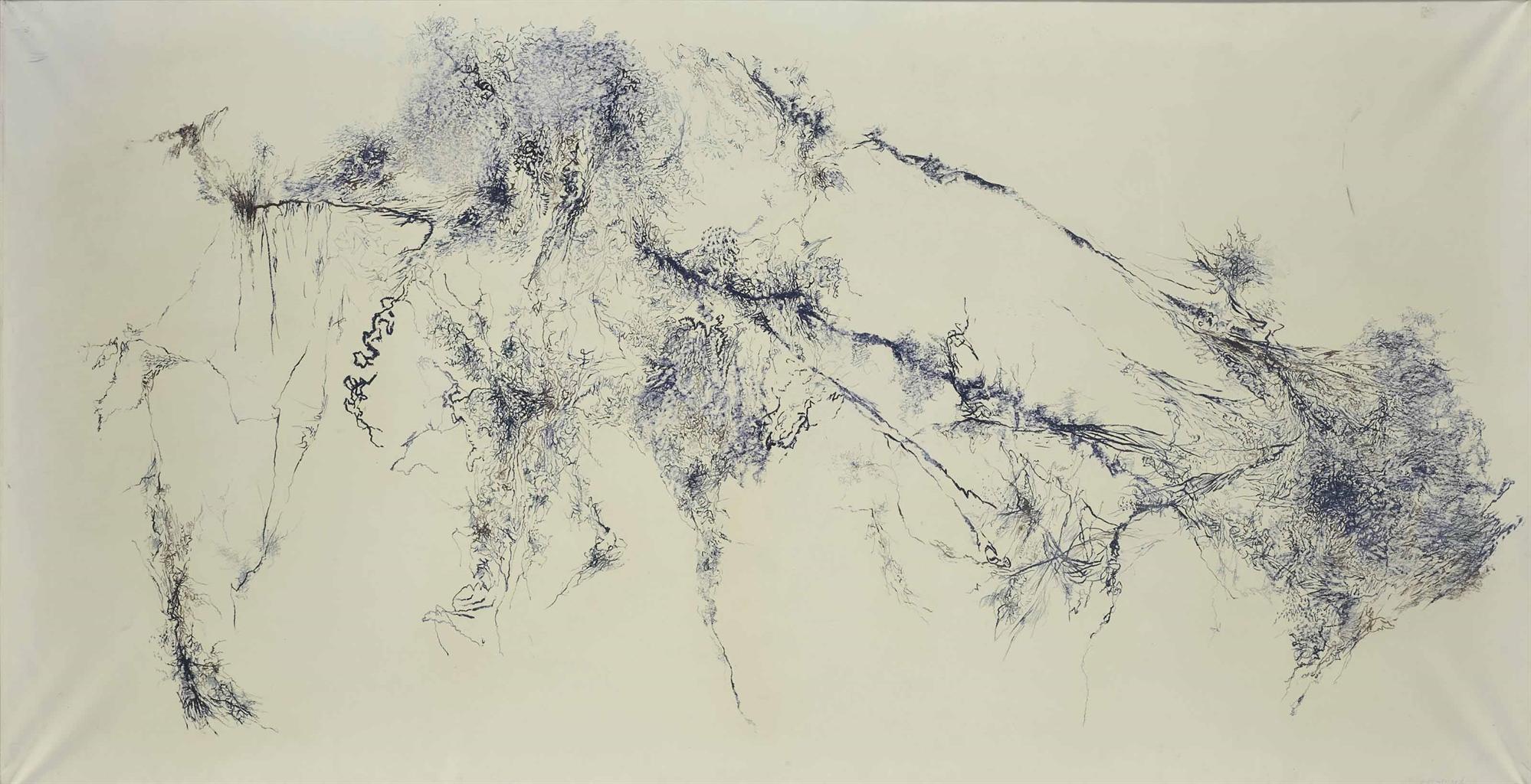 Bernard Schultze-Composition 1-11-59-1959