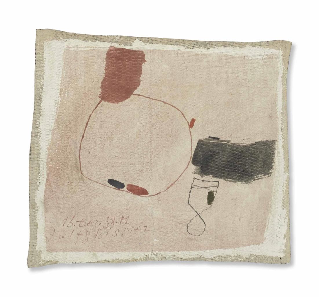 Julius Bissier-Untitled-1958