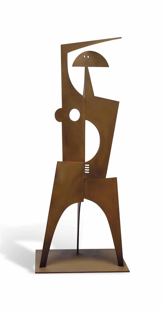 Philippe Hiquily-La Sevillane (Femme Lune)-2006