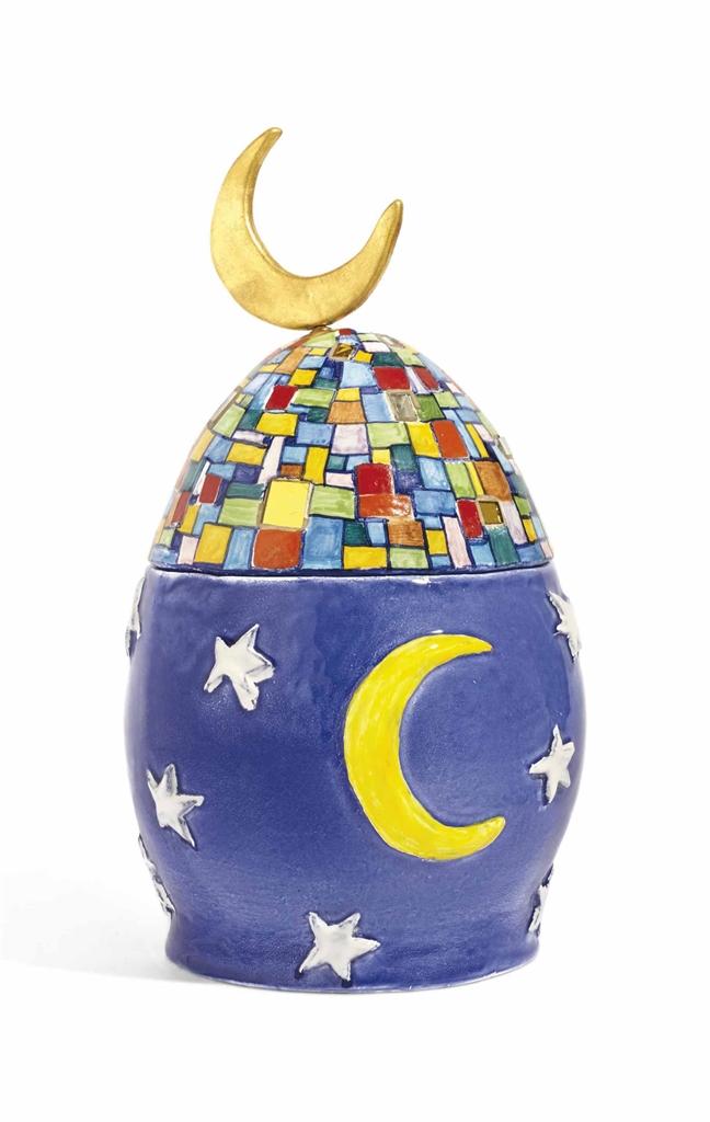 Niki de Saint Phalle-L'Urna Per Moon-1985