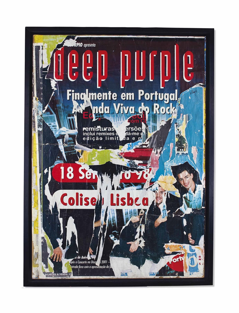 Jacques Villegle-Deep Purple, Avenida Libertade, Lisbonne-1998