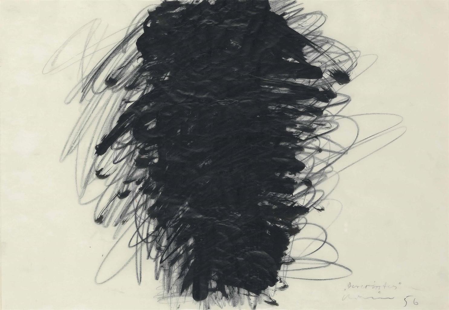 Arnulf Rainer-Verwirrts-1956