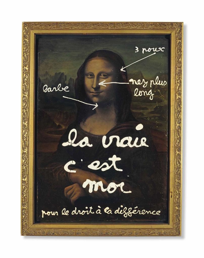 Ben Vautier-La Vraie Cest Moi-1990